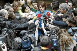 Valenciano desautoriza al PSN: «Con Bildu no vamos ni a la vuelta de la esquina»