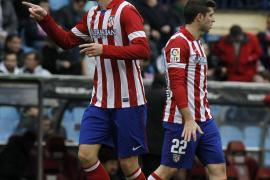 El Atlético reacciona con una victoria fulminante