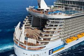 El crucero más grande del mundo traerá  a la Isla  139.000 pasajeros en 2015