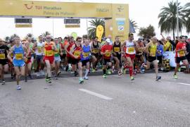 La XI TUI Maratón tendrá lugar en Palma el próximo 19 de octubre