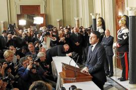 Renzi acepta «con reservas» formar un Gobierno reformista para Italia