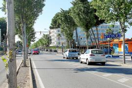 El Consell reformará después del verano la carretera de Artà a su paso por Can Picafort