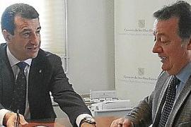 El Govern se compromete a construir un apeadero del tren en el hospital de Inca