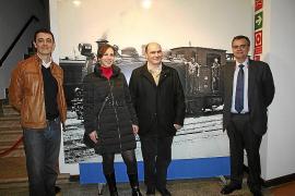 Inauguración de la exposición 'Ferrocarril a Mallorca, història i modelisme'