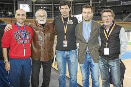 El Palma Arena acoge la presentación del libro 'Timoner en persona. Una vida en pista'