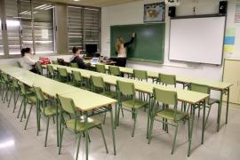 Casi el 90% de los alumnos del IES Marratxí secunda la huelga en apoyo de Jaume March