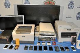 Detenido un ladrón acusado de robar en catorce despachos de abogados de Palma