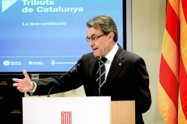 Artur Mas pone en marcha el embrión de la futura agencia tributaria catalana