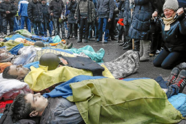 Baño de sangre en Kiev
