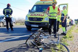 Atropellado un ciclista en Palmanyola