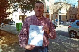 Un vecino de Llucmajor entrega 4.200 firmas contra la subida del IBI