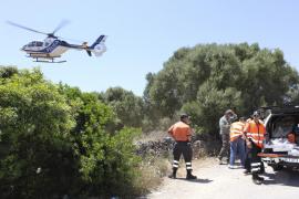 Efectivos de emergencias buscan a una mujer de 82 años desaparecida en Cala d'Or