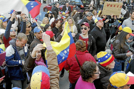 Los venezolanos de Mallorca exigen paz y libertad