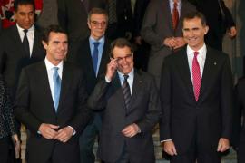 Mas: «Catalunya es una antigua nación que puede tener un hueco en el mundo global»