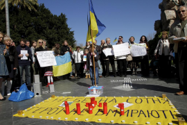 Los ucranianos  residentes en Mallorca celebran 'el día de los héroes'