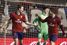 Un desconocido Atlético se deja los tres puntos en Pamplona