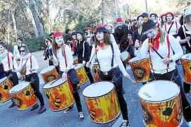 Diversión y colorido en 'Sa Rua' de Marratxí