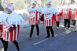 Sa Rua de Marratxí anuncia la llegada del Carnaval en Mallorca