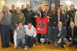 El RCD Mallorca, con Ariany y Costix