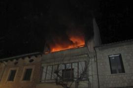 Alarma en Sóller por un incendio en una vivienda