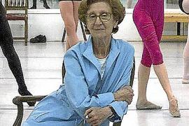 Fallece la bailarina María de Ávila, la gran dama de la danza en España