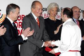 El Rey asegura que se «confirma» el crecimiento de España