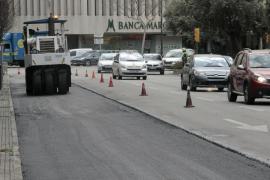 Finalizan las obras de asfaltado de las Avenidas y la calle Sindicato