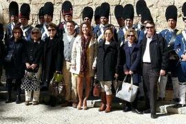 Visita al cambio de guardia en L'Almudaina