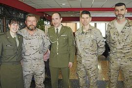 Aniversario de la Academia General Militar de Zaragoza en Es Fortí