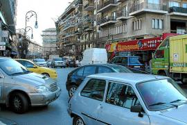 Descienden un 18 % los vehículos que acceden al centro desde el año 2001