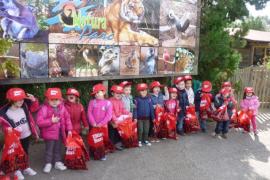 Alumnos del CEIP Pere Cerdà del Port de Sóller en Natura Parc