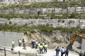 El Govern dice que la única incidencia en la línea del tren fue una grieta en el puente de Petra