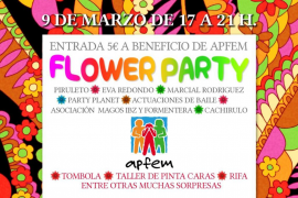 Flower Party benéfica