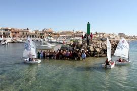 Regatistas y socios del Club Marítim Molinar de Levante piden un puerto seguro