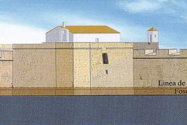 El castillo de San Carlos, tal como fue gracias al hiperrealismo