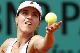 Nuria Llagostera cae ante la israelí Shahar Peer en la primera ronda