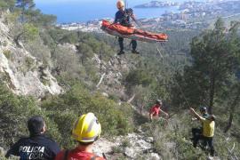 Rescatan a un joven en Palmanova