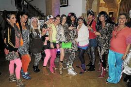 Fiesta de disfraces en el Club Pollença