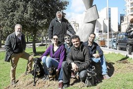 Escultura de Joan Lacomba para Son Espanyolet