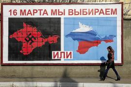 Occidente reclama a Rusia que pare el referéndum en Crimea y acepte negociar