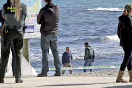 Enseñan la foto de la asesinada de Son Bauló a indigentes de Palma para identificarla