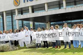 Los médicos del Hospital Comarcal d'Inca exigen el cese de las presiones institucionales
