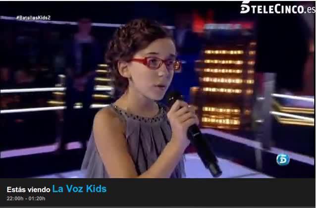 """La despedida de Iraila en """"La Voz Kids"""""""