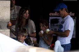'El Cordobés', paseo en familia por Palma