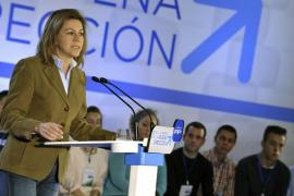 El PP promete una España unida en Europa frente a la irresponsabilidad de Mas