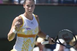 La italiana Flavia Pennetta, campeona en Indian Wells