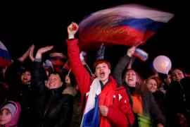 Crimea dice sí a la reunificación con Rusia en el referéndum separatista