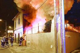 Madrugada de fuego en Palma y Cala Rajada