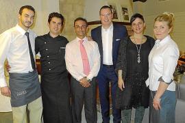 Inauguración del restaurante Can Costa en Pollença.