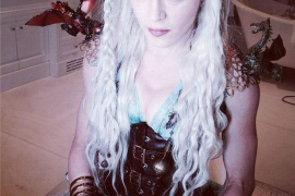 Madonna, al más puro estilo estilo Khaleesi